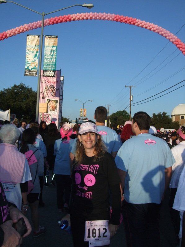 Race For The Cure Dallas: October 20, 2013